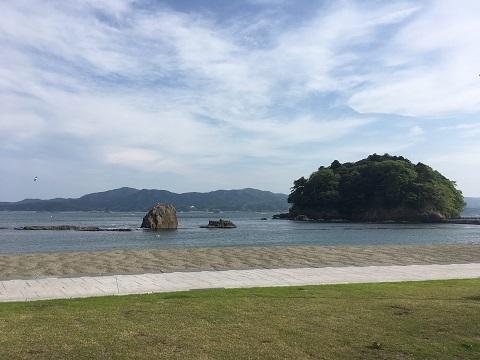 36海水浴場モアイ