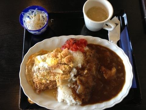 カツ丼カレー