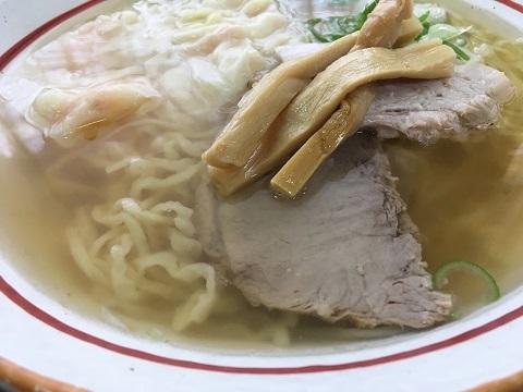 塩海老ワンタン麺2