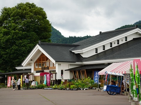 道の駅碇ヶ関2