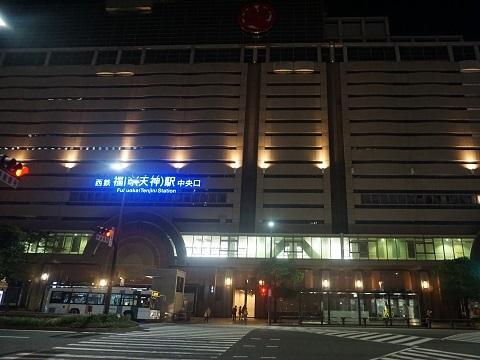 24西鉄天神駅