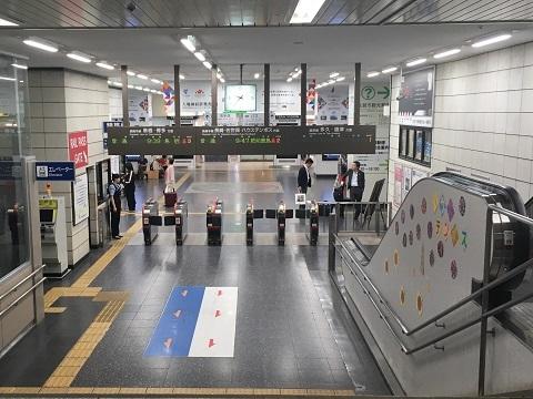 11佐賀駅改札口