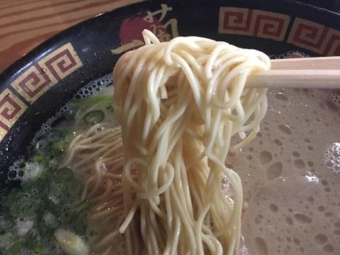 天然とんこつ麺