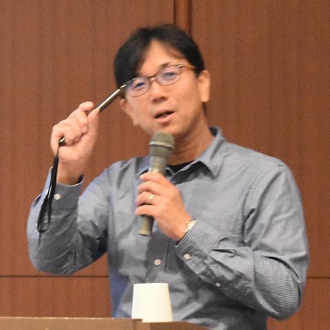 三河内岳氏(東京大学総合研究博物館教授)
