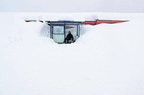 海外の凄まじい冬の寒さの画像(40枚目)