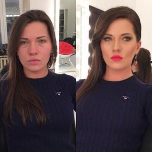 女性の化粧前、化粧後の画像の数々_14