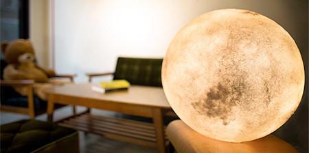 【画像】満月そのままのランプ「Full Moon Lamp」が凄い!!の画像(1枚目)