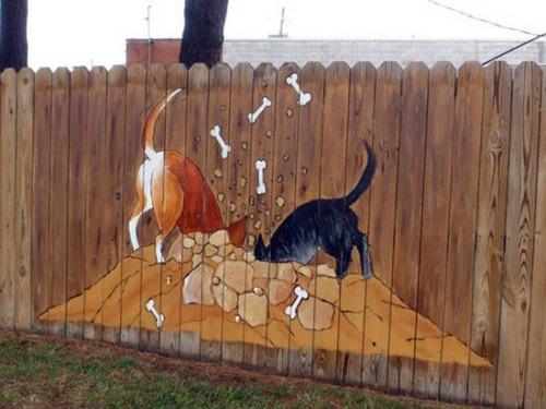 面白いちょっと魅力的な塀や柵をしている家の画像の数々!!の画像(1枚目)