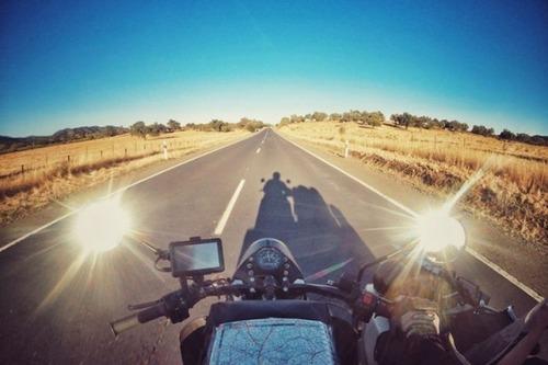 【画像】1台のバイクで家族3人が41カ国を4ヶ月で制覇!!の画像(18枚目)