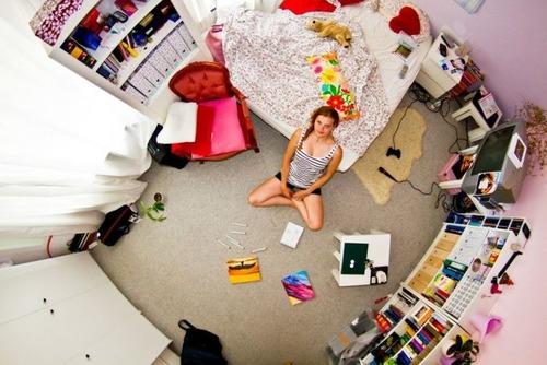 世界各国の人達のベッドルームの画像(12枚目)