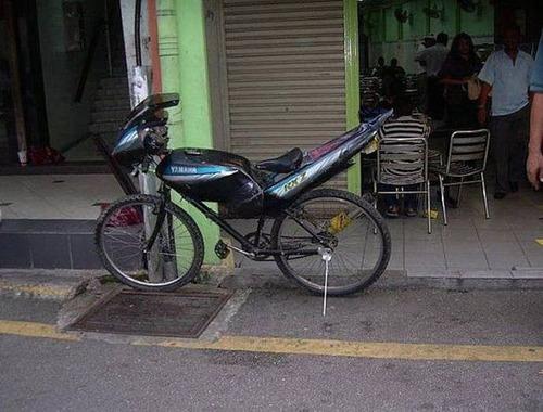 自転車にまつわるちょっと面白ネタ画像の数々!!の画像(14枚目)