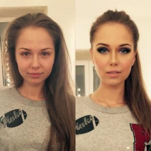 女性の化粧前、化粧後の画像の数々_09