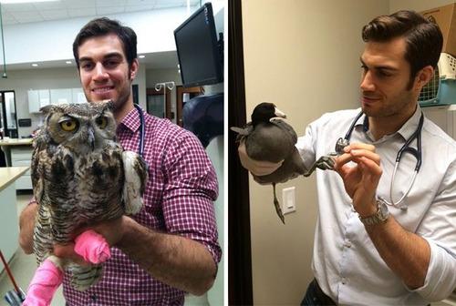 動物大好きイケメン獣医さんと動物の幸せそうな画像の数々!!の画像(10枚目)