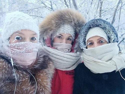 海外の凄まじい冬の寒さの画像(1枚目)