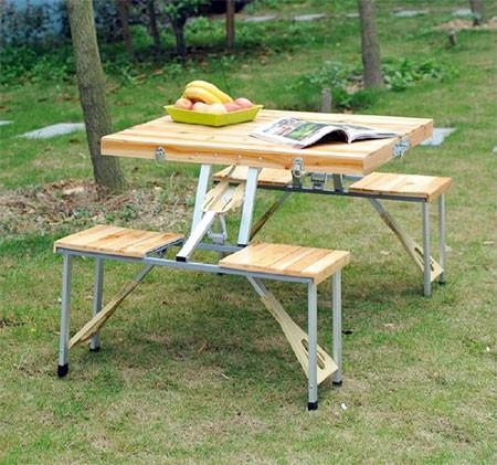 【画像】持ち運び簡単!鞄のように片手でもてる机と椅子のセット!!の画像(3枚目)
