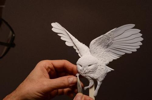 【画像】普通の紙で作る動物のペーパー・カッティング(切り絵)が凄い!!の画像(12枚目)