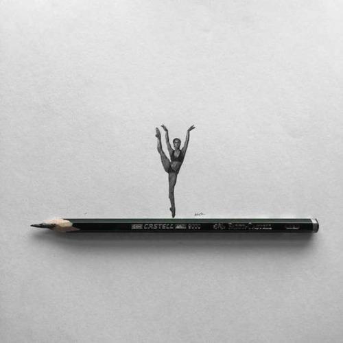 鉛筆やシャーペンで描いた小さいけど凄いクオリティの画像の数々!!の画像(8枚目)