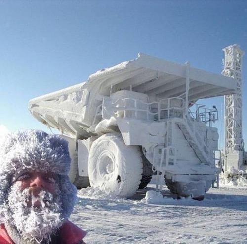 海外の凄まじい冬の寒さの画像(16枚目)
