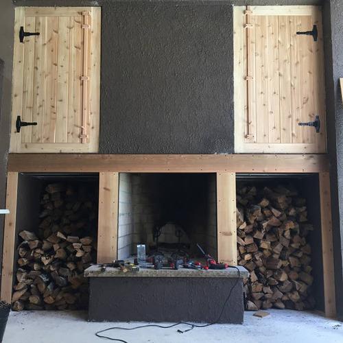 ロマンを感じる!自宅に追加で作った暖炉が凄い!!の画像(16枚目)