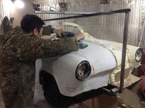 【画像】職人が本気で作った子供用の自動車が凄いwwwの画像(15枚目)