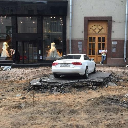 違法駐車している自動車への制裁が凄まじい!!の画像(5枚目)