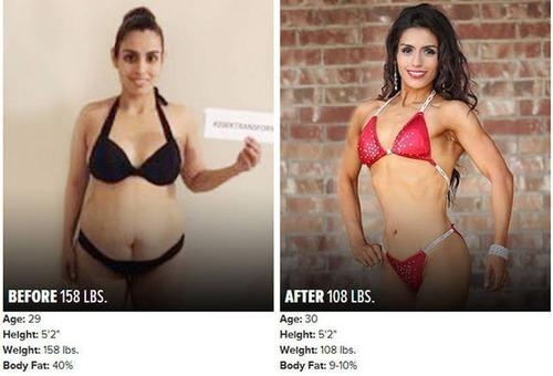 やればデキル!ダイエット肉体改造のビフォーアフターの画像の数々!!の画像(8枚目)