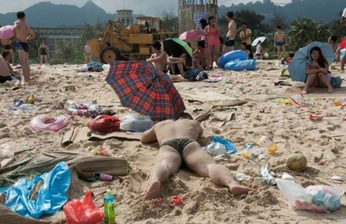 中国の海水浴場の画像(8枚目)