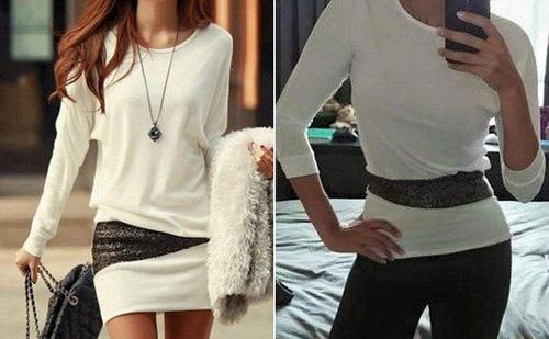 ちょっと酷い…女性の服の商品画像と届いた商品の比較画像の数々。。の画像(7枚目)
