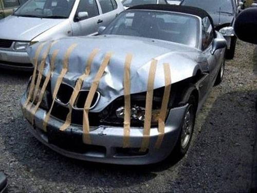 【画像】修理方法が驚異的に雑すぎて、凄いことになってる自動車の数々!!の画像(22枚目)