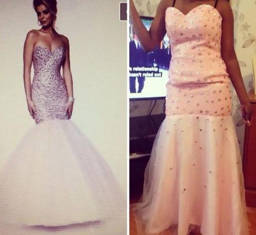 美しいドレスの商品写真の画像(2枚目)
