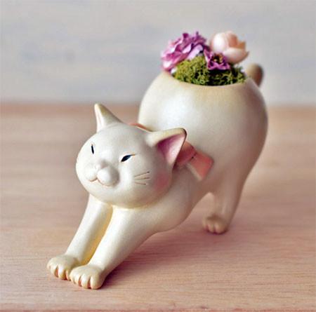 植木鉢で癒される!かわいい動物のプランターの画像の数々!!の画像(8枚目)