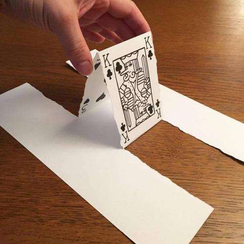 1枚の紙とペンで作った3Dアートの画像(14枚目)