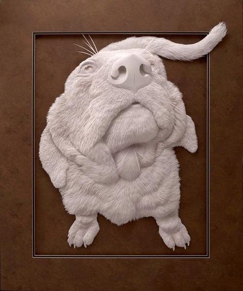 【画像】普通の紙で作る動物のペーパー・カッティング(切り絵)が凄い!!の画像(34枚目)