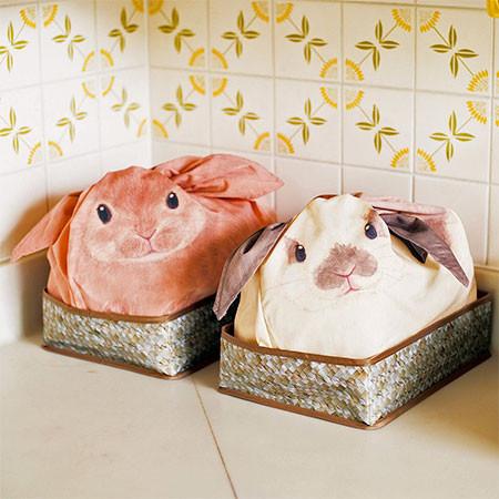 ウサギになる風呂敷の画像(3枚目)