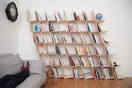 どんどん増やしてどんどん減らせる!超便利そうな本棚が凄い!!の画像(2枚目)