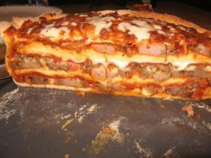 【画像】凄まじいカロリー!ピザだけどピザのような何かの作り方wwの画像(25枚目)