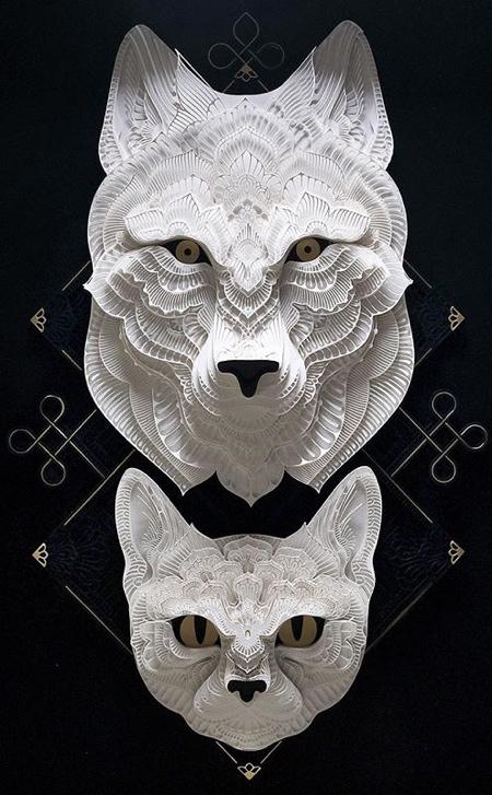 動物の3Dペーパークラフトの画像(9枚目)
