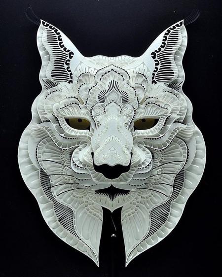 動物の3Dペーパークラフトの画像(11枚目)