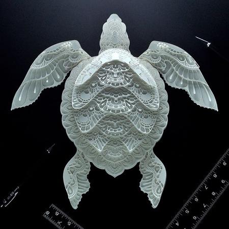 動物の3Dペーパークラフトの画像(6枚目)