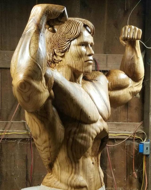 凄まじいクオリティの木彫りの彫刻の画像(10枚目)