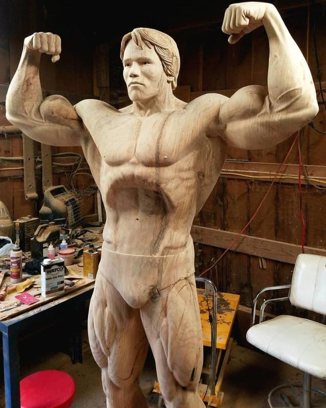 凄まじいクオリティの木彫りの彫刻の画像(8枚目)