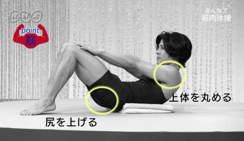 NHKの『みんなで筋肉体操』のお兄さんの体形03
