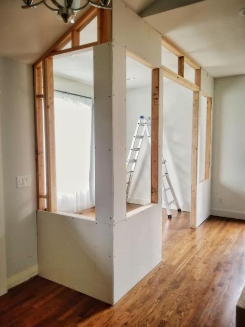 DIYで自宅に作ったオフィスの画像(9枚目)