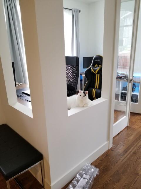 DIYで自宅に作ったオフィスの画像(26枚目)