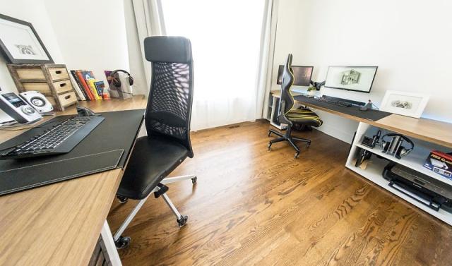 DIYで自宅に作ったオフィスの画像(34枚目)