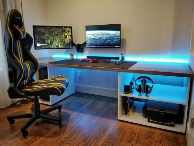 DIYで自宅に作ったオフィスの画像(35枚目)