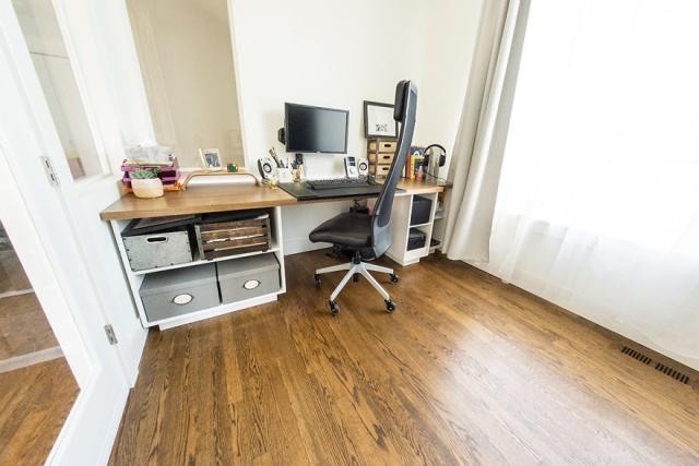 DIYで自宅に作ったオフィスの画像(36枚目)