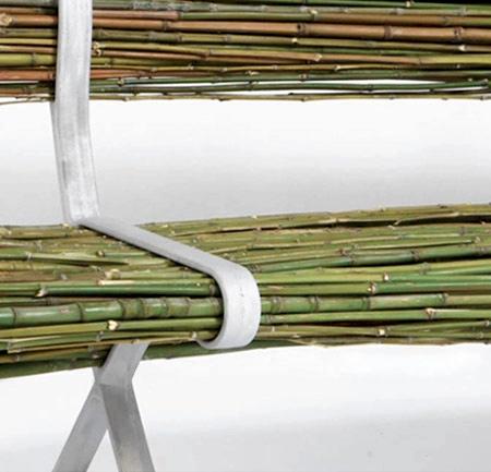自然の竹を活用した「バンブーベンチ」の画像(3枚目)