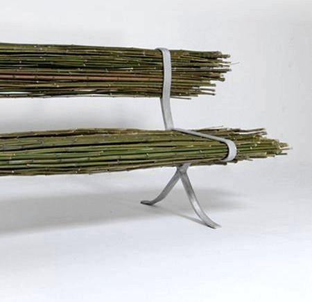 自然の竹を活用した「バンブーベンチ」の画像(4枚目)