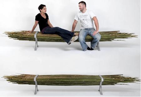 自然の竹を活用した「バンブーベンチ」の画像(6枚目)